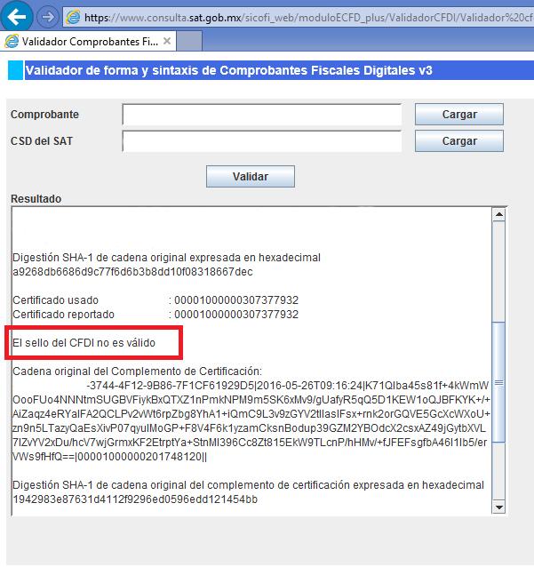 validacion uuid cfdi estructura xml sat