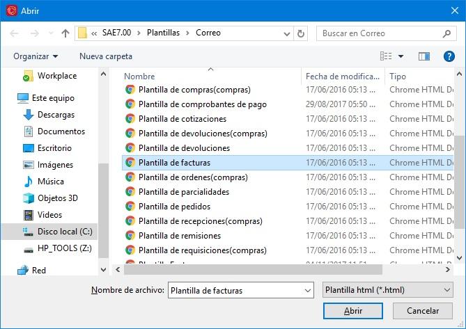 solución plantilla correo cannot focus a disabled or invisible window
