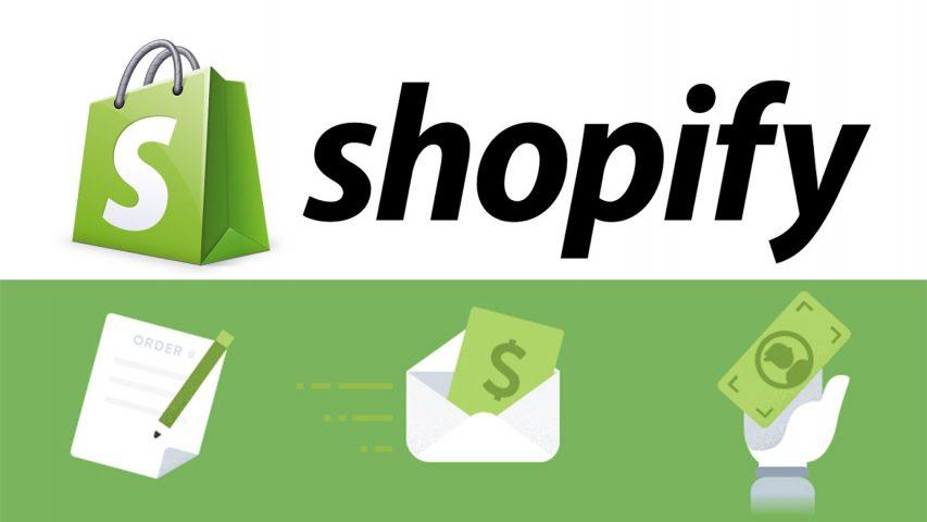 shopify crear tienda línea negocio sin programar
