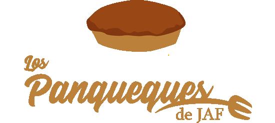 logotipo los panqueques de jaf