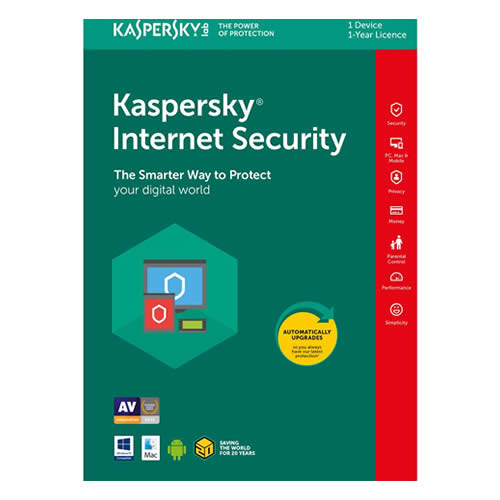 licencia kaspersky internet security negocio oficina merida mexico