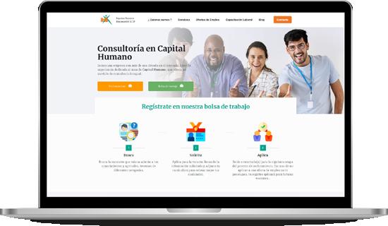 portafolio diseño desarrollo web impulsohumano.com.mx