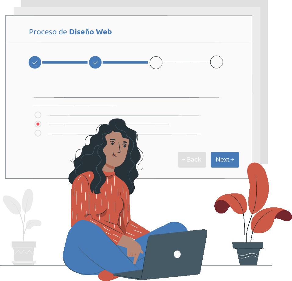 proceso diseño desarrollo sitio web merida yucatan